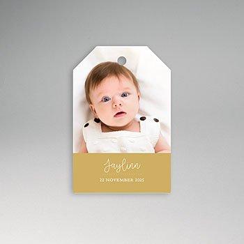 Etiket geboorte - babyjurkje - 0