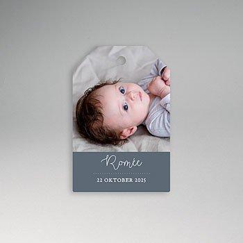 Etiket geboorte - Rompertje - 0