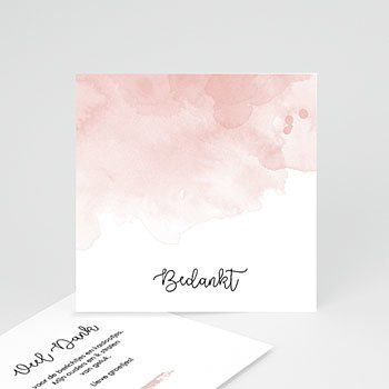 Bedankkaartje geboorte dochter - Cutie - 0