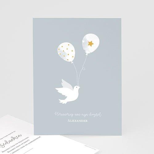 Klassieke bedankkaarten doopsel - Peace Loving 63479 thumb