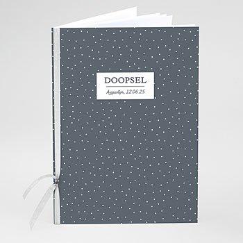Boekomslag voor doopboekjes - Lovely Boat - 0