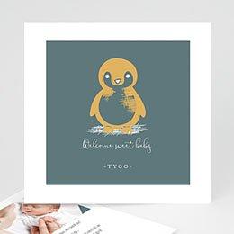 Aankondiging Geboorte Kleine pinguïn