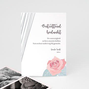 Bedankkaartje geboorte dochter - Sweet Candy Trio - 0