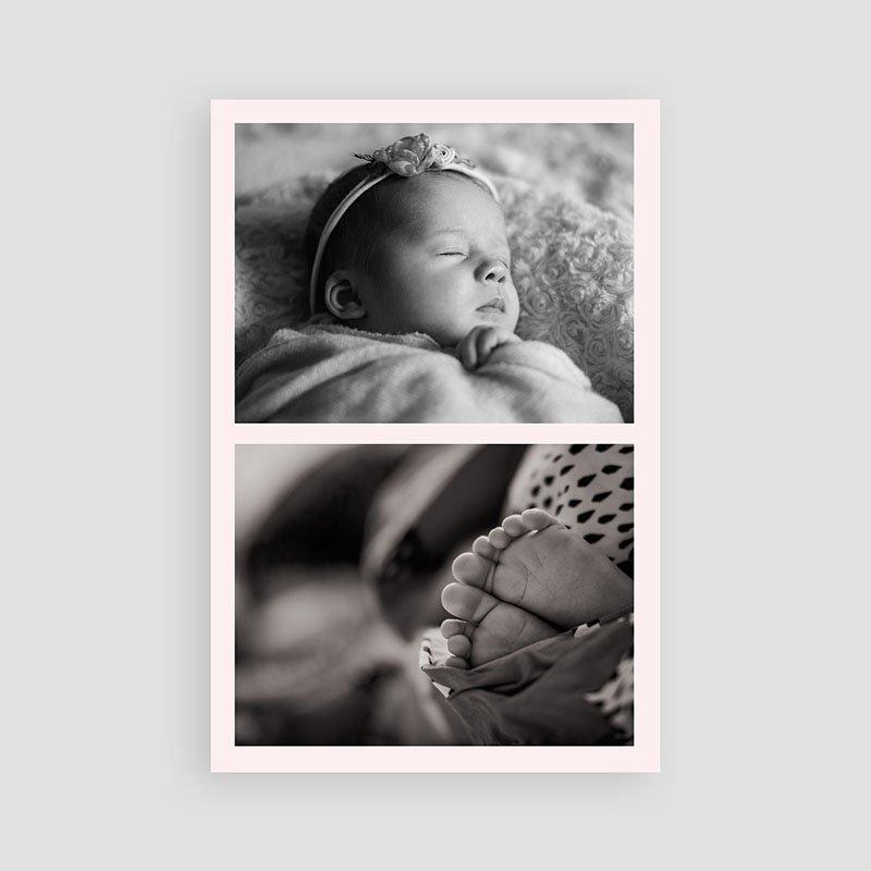 Bedankkaartje geboorte dochter - Sweet Candy Trio 63834 thumb