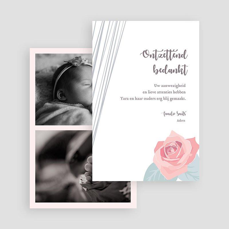 Bedankkaartje geboorte dochter - Sweet Candy Trio 63835 thumb