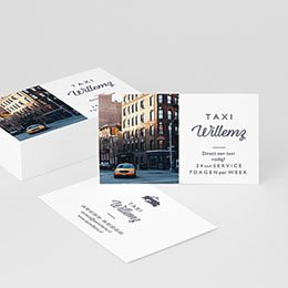 Visitekaart Professionnel Taxi