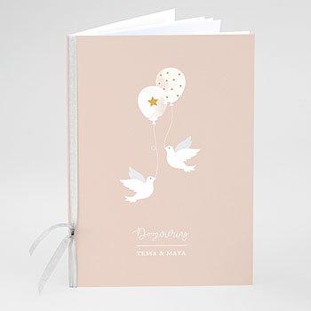 Boekomslag voor doopboekjes - Peacefully - 0