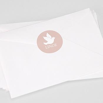 Stickers Doopsel - Gouden duif - 0