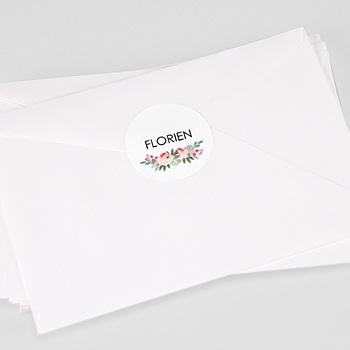 Stickers Doopsel - Doopsel Bloemen - 0
