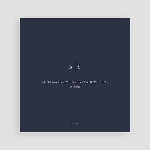 Creatieve trouwkaarten - Color shades 64229 thumb