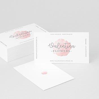Visitekaartjes - Roze Serenity - 0