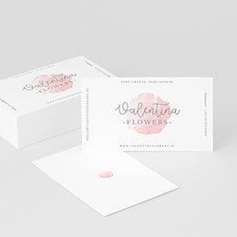 Visitekaart Professionnel Roze Serenity