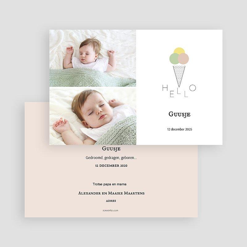 Geboortekaartje meisje - Ijsje 64986 thumb