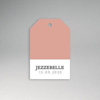 Etiket geboorte - Pretty Pink - 0