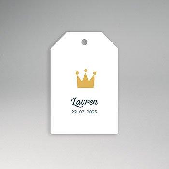 Etiket geboorte - Lauren - 0