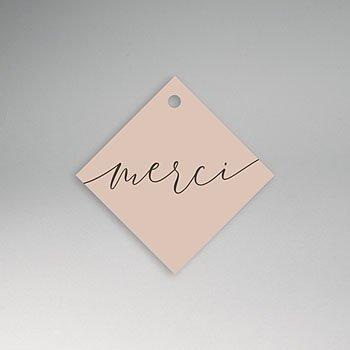 Etiket huwelijk - Nude Chic - 0