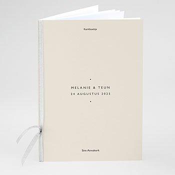 Boekomslag voor trouwboekjes - Nude Chic - 0