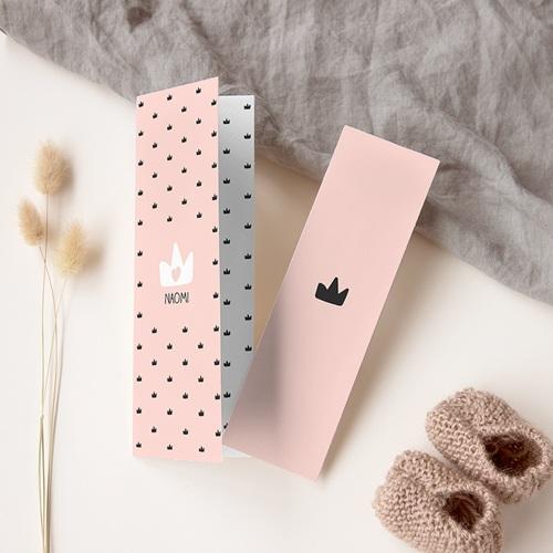 Geboortekaartje meisje - Mooie prinses 65725 thumb