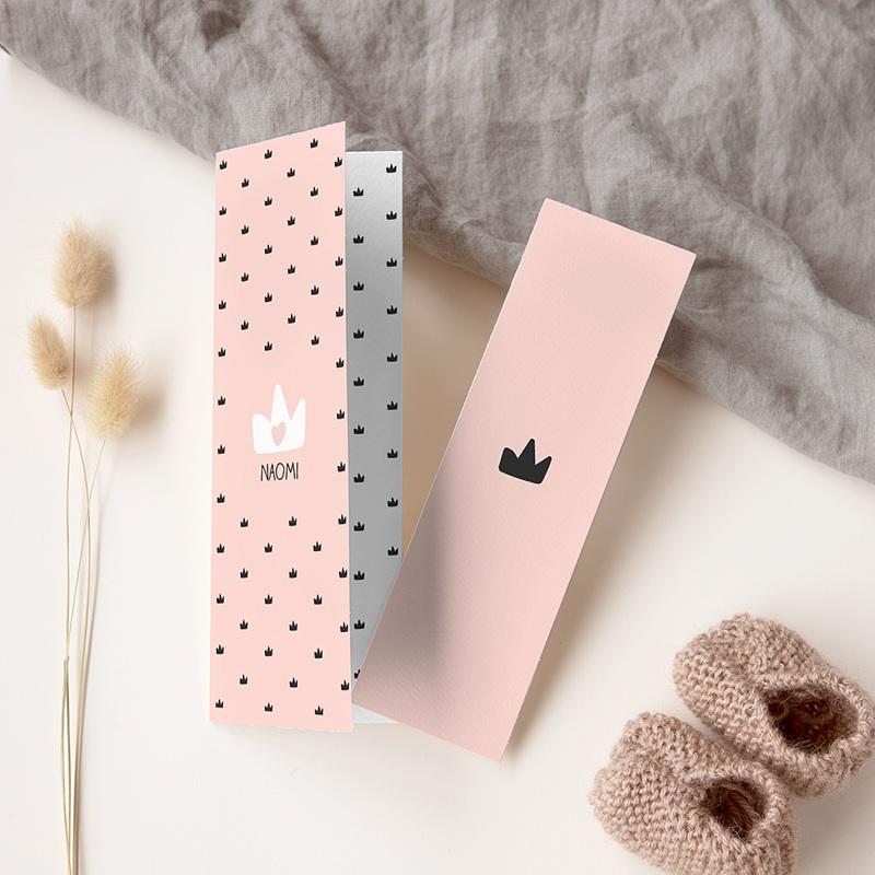 Geboortekaartje meisje Mooie prinses
