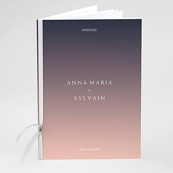 Boekomslag voor trouwboekjes - Color Shades - 0