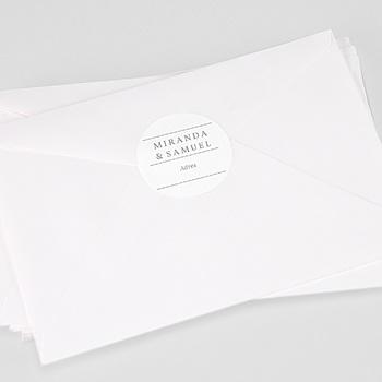 Stickers Huwelijk - Minimal Botanical - 0