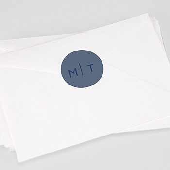 Stickers Huwelijk - Modern Minimalist - 0