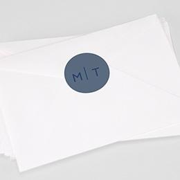 Stickers Huwelijk Modern Minimalist