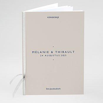 Boekomslag voor kerkboekje - Modern Minimalist - 0