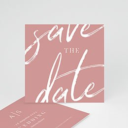Save the date kaartjes Color Shades