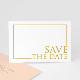Save the date kaartjes Sleekly Simple