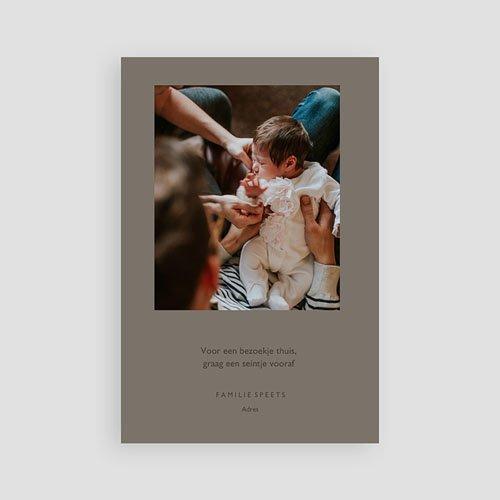 Geboortekaartje meisje - Onze Lieveling 66499 thumb