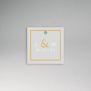Etiket huwelijk - Sleekly Simple - 0