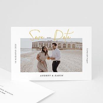 Save the date kaartjes - Wij Gaan Trouwen - 0