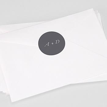 Stickers Huwelijk - Minimal Script - 0