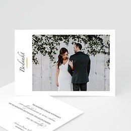 Exclusieve bedankkaarten huwelijk Minimal Script