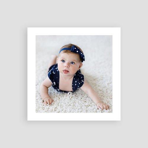 Bedankkaartje geboorte dochter Pastel roze pas cher