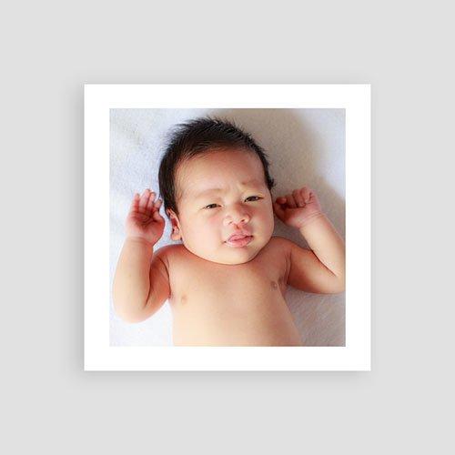 Bedankkaartje geboorte zoon Goudmint pas cher