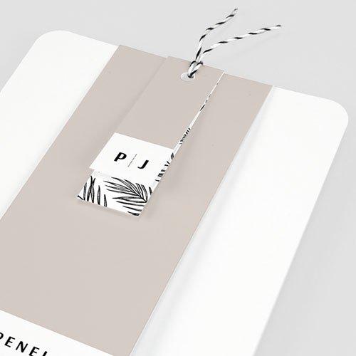 Creatieve trouwkaarten - Mokka Creme 66781 thumb