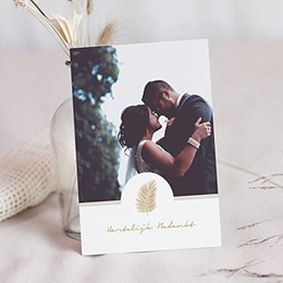 Chique bedankkaartjes huwelijk Palm Springs