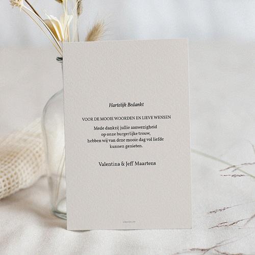 Chique bedankkaartjes huwelijk - Palm Springs 66905 thumb