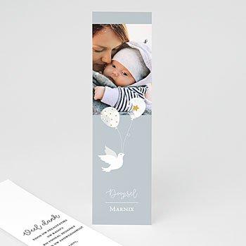 Bedankkaart doopviering jongen - Peaceful 2 - 0