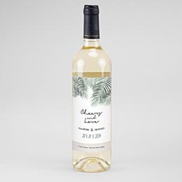 Etiket Voor Wijnfles Palm Springs wine