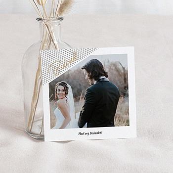 Creatieve bedankkaartjes huwelijk - Bedankt & Mint - 0