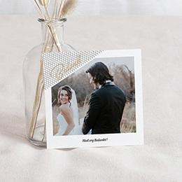 Creatieve bedankkaartjes huwelijk Bedankt & Mint