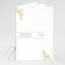 Boekomslag voor kerkboekje Minimal Botanical