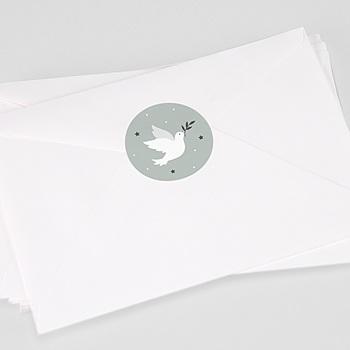 Stickers communie - Vredesambassadeur - 0
