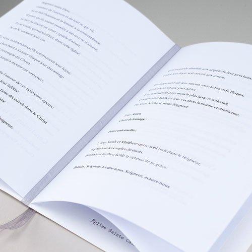 Boekomslag voor doopboekjes Kruis en Goud gratuit
