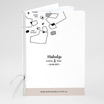 Boekomslag voor kerkboekje - Abstracte vormen - 0