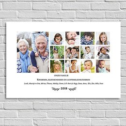 Posters Onze Familie (liggend)