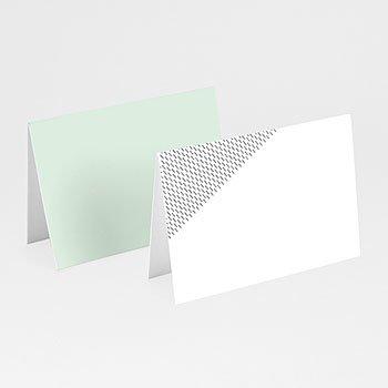 Tafelkaartjes huwelijk - Groen & Goudfolie - 0